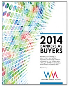 """""""Bankers As Buyers"""" Financial Services Industry Research Report"""