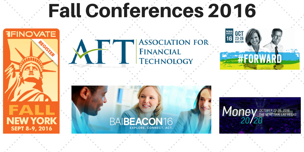 Financial Conferences this Fall Showcasing New Ideas and Innovation