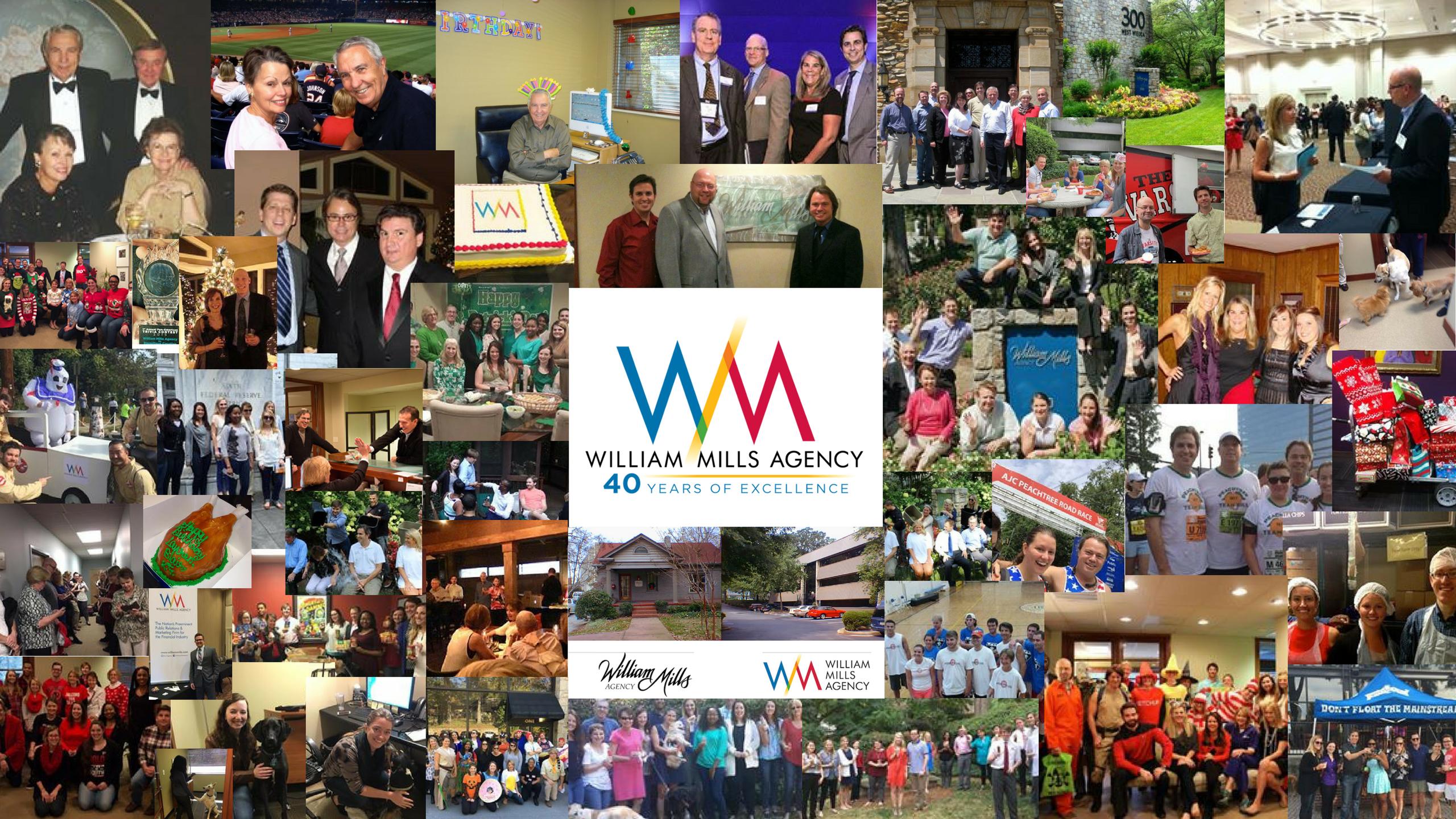 William Mills Agency 40th Anniversary