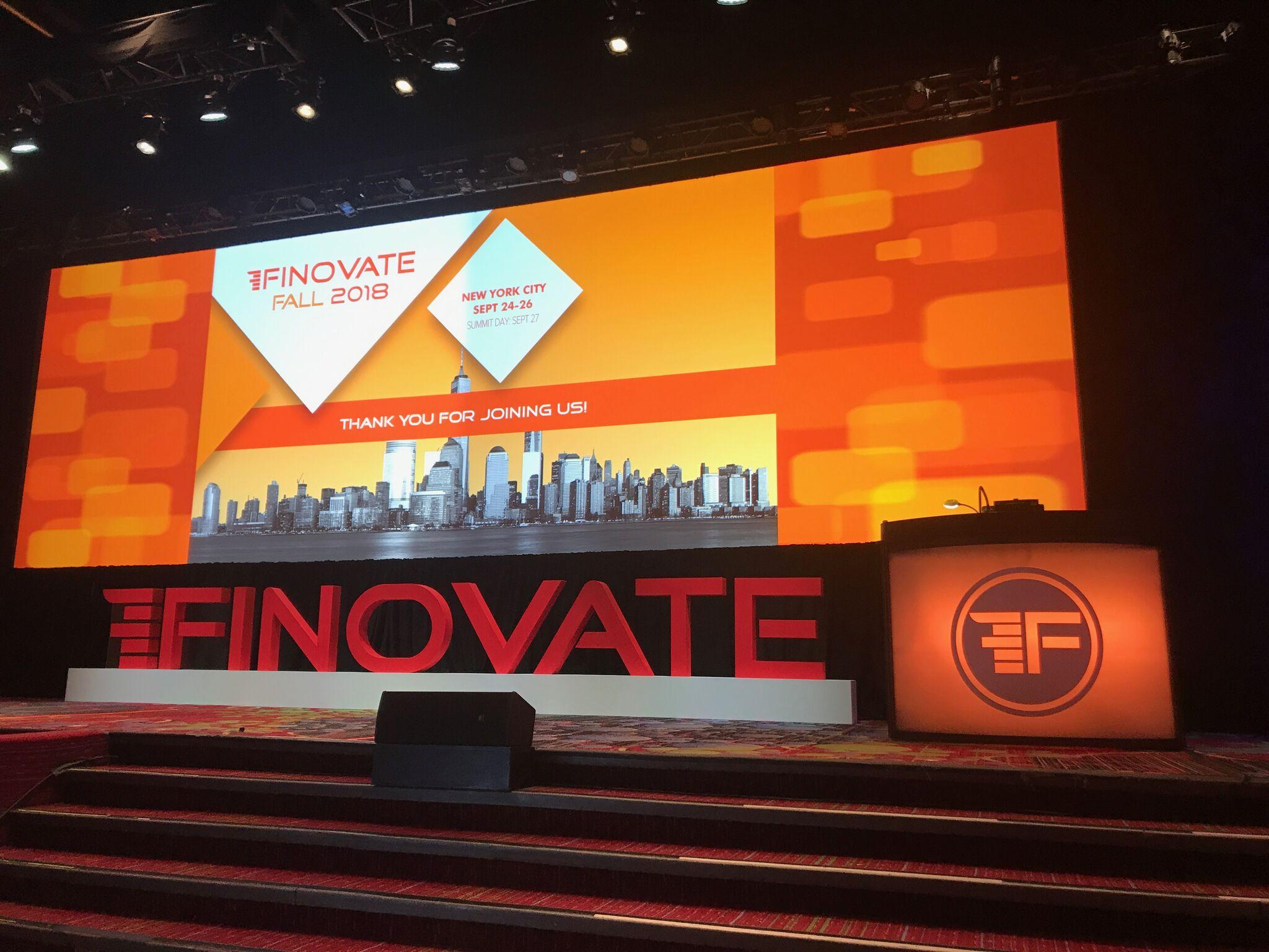 FinovateFall 2018 Live Blog - Day 2